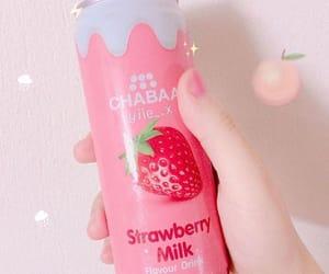 drink, kawaii, and milk image