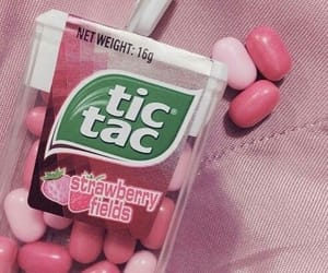 pink, aesthetic, and strawberry image