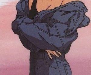 anime, aesthetic, and girl image