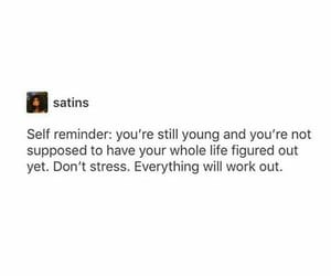 breathe, motivation, and self reminder image
