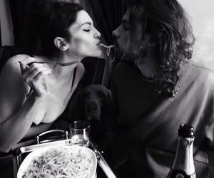 couple, romantic, and lové image