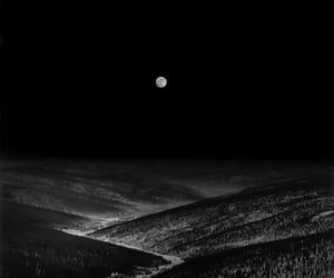 alaska, bw, and landscape image