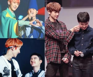 exo, friendship, and k pop image
