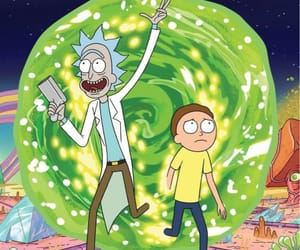 rick and morty, cartoon, and rick image