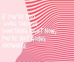 pink, stripes, and typography image