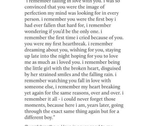 crying, first love, and heartbreak image