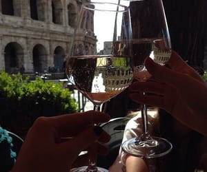 wine, drink, and italy image