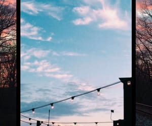 background, indie, and sky image