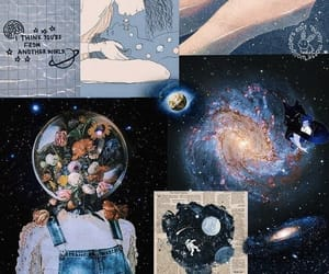 aesthetic, astronomia, and background image