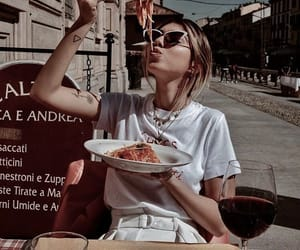 food, fashion, and aesthetic image