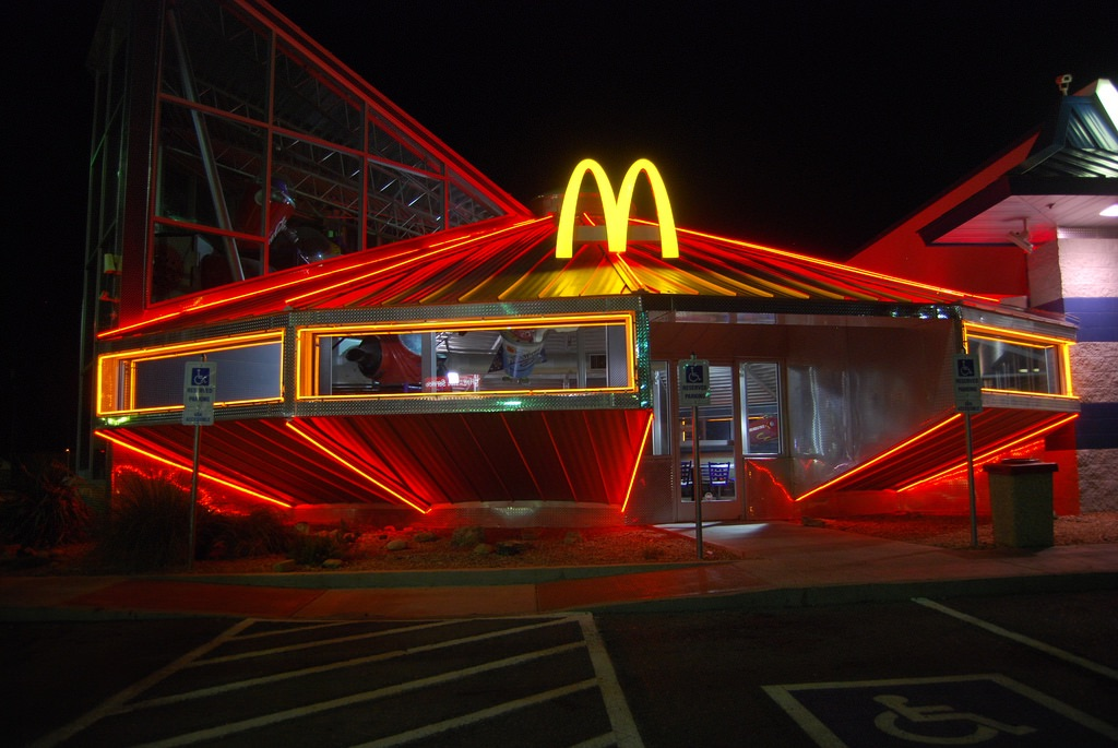 McDonalds and indie image
