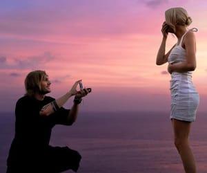 bali, couple, and engaged image