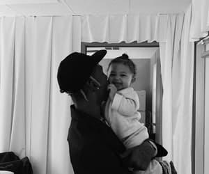 baby, travis scott, and family image