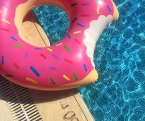 donut, summer, and turkey image