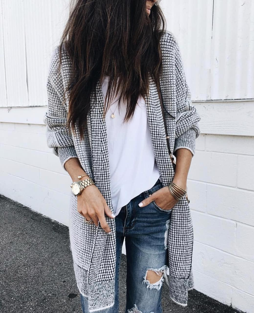 cardigan and sweater image