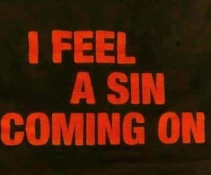 feel, sin, and hell image
