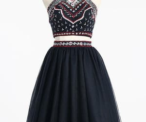 homecoming dress a-line and homecoming dress backless image