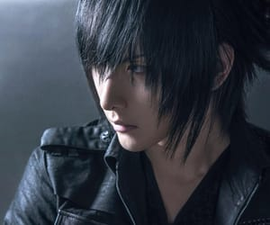 handsome, noctis, and final fantasy xv image