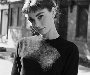 audrey hepburn, audrey, and black and white image