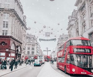 bus, city, and london image