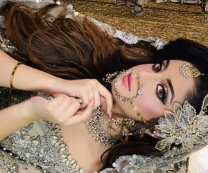 dp, pretty, and indian bride image