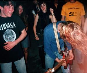 crowd, grunge, and kurt cobain image