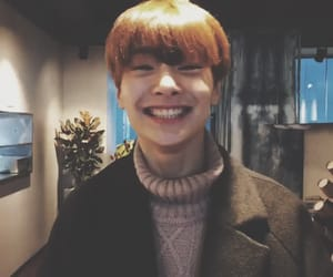 kpop, jeongin, and brown aesthetic image