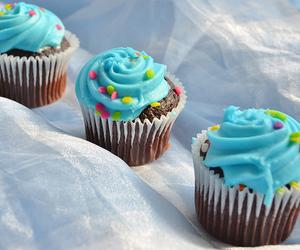 chocolate, cupcake, and food image