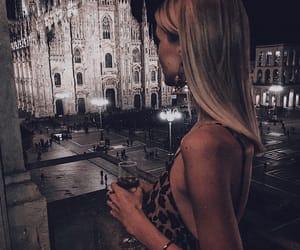 blonde hair, fashion, and nightlife image