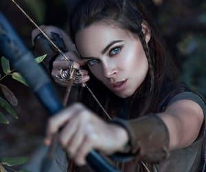 archer, blue eyes, and elf image