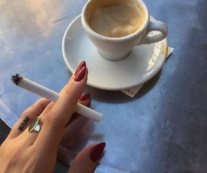 cigarettes, coffee, and cool image