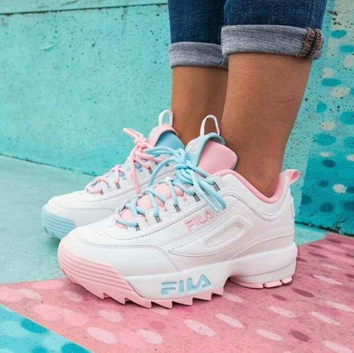 fila pink and blue Shop Clothing