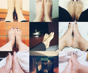 feet, nails, and piel image