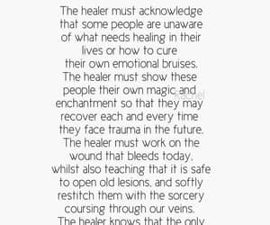 the healer, sounds 2 complicated, and face your trauma? hell no image