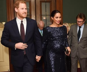 prince harry, royals, and meghan markle image