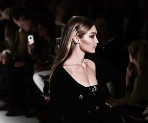 gigi hadid, model, and runway image
