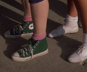 converse, sixteen candles, and 80's image