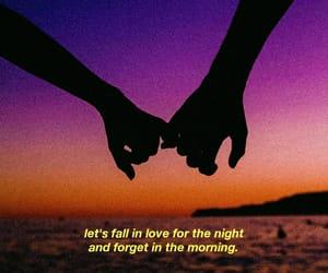 aesthetic, holding hands, and Lyrics image