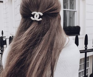 hair, chanel, and accessories image
