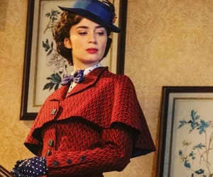 actress, Emily Blunt, and Mary Poppins image