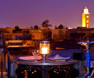 beautiful, candle, and morocco image