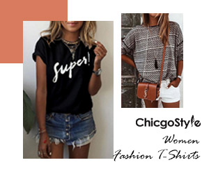 Chicgostyle fashion t shirts