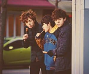 boy, korean, and myung soo image