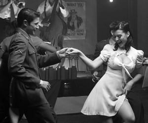 dance, love, and vintage image