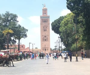 marrakesh, travel, and morocco image