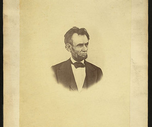 abraham lincoln, library of congress, and president image