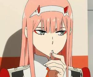 anime, icon, and zero two image