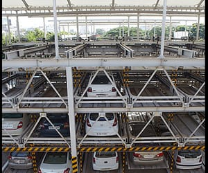 car elevator and automated car parking image
