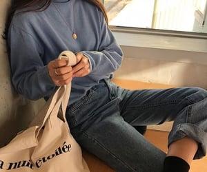 aesthetic, korean, and beige image
