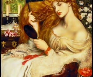 Dante Gabriel Rossetti, old paintings, and oil paintings image